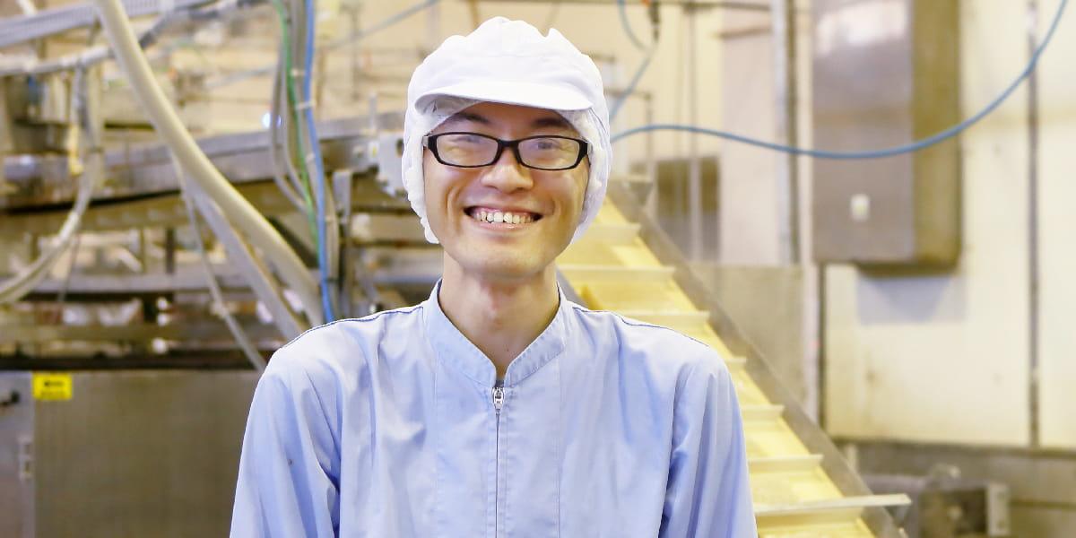 製造部 生産1グループ 生産2課 田村 和也