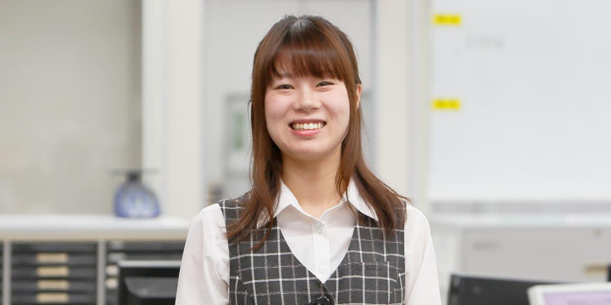 管理部 本社物流業務課 大杉 萌